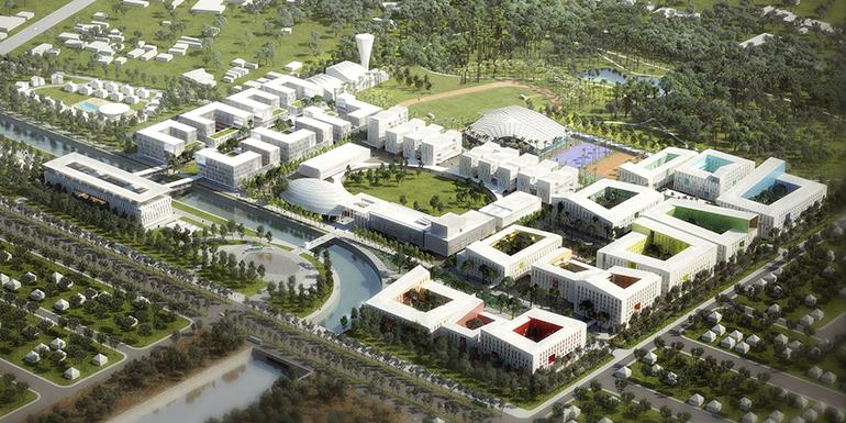 Nuevo campus de la UVA en Vietnam, de Machado and Silvetti