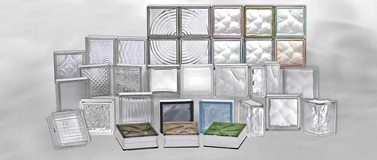 Bloque de vidrio clásico