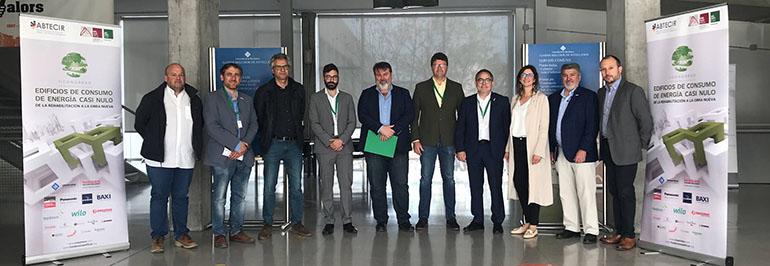 Abtecir y el Colegio de Aparejadores de Mallorca organizan el II Congreso de Edificios de Consumo de Energía Casi Nulo