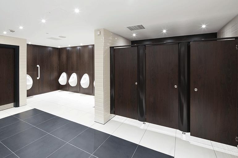 Laminados que favorecen la instalación de cubículos más cómodos y espaciosos