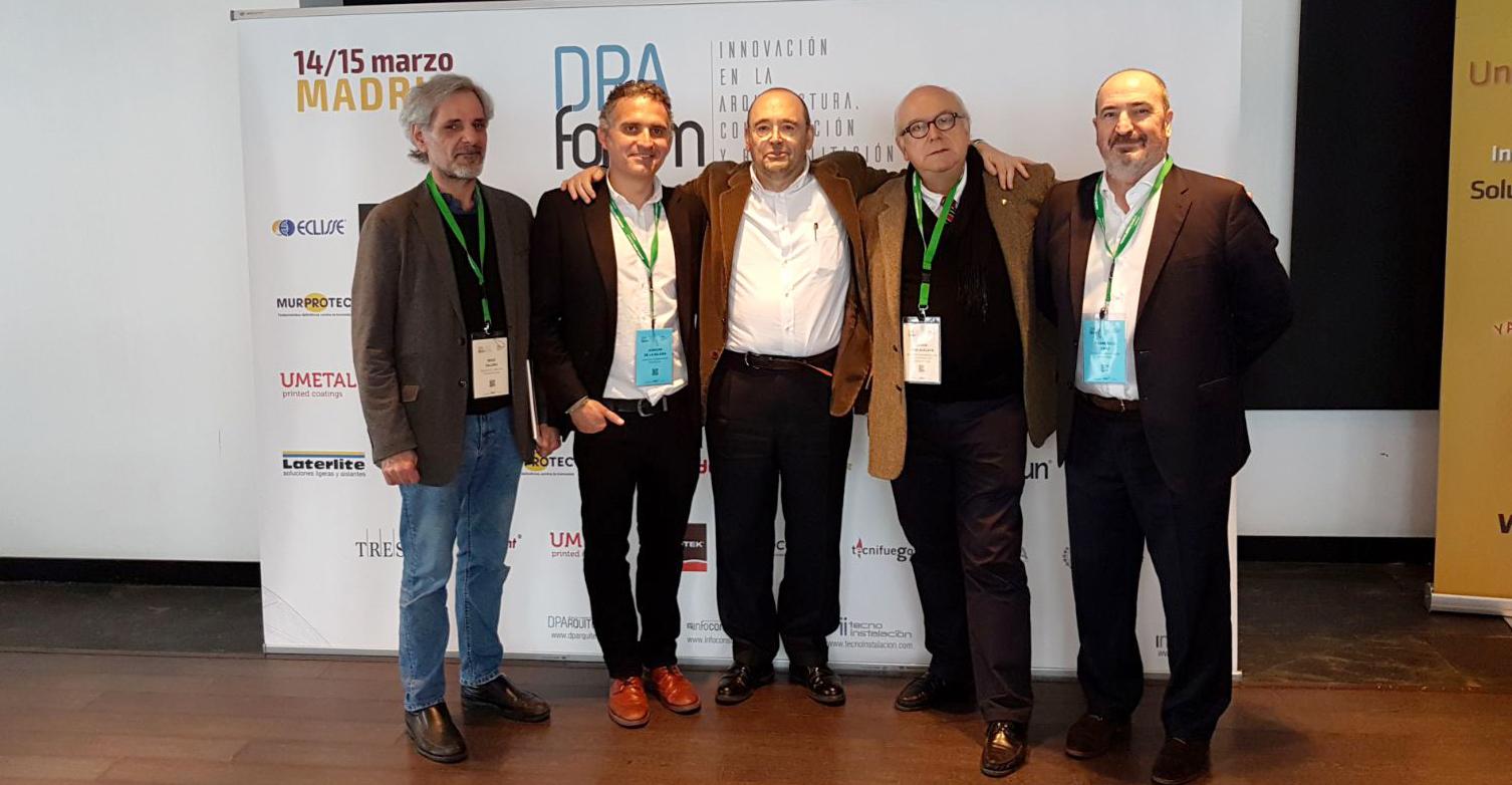 Francisco Mangado participa en la segunda jornada del DPA Fórum Madrid
