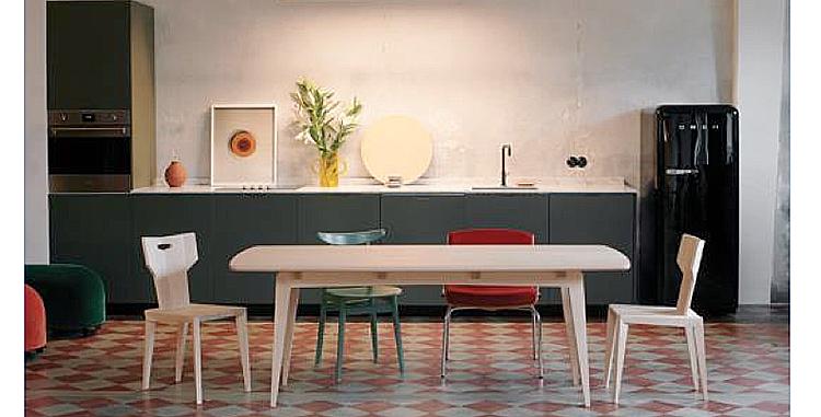 Madera de arce estadounidense para muebles de diseño