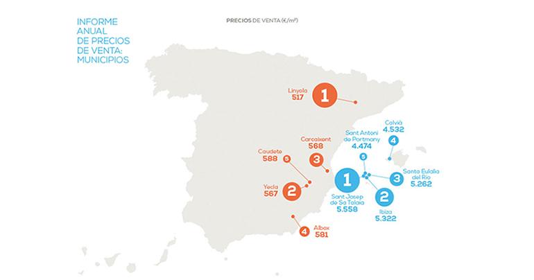Madrid es la región que más sube el precio de la vivienda frente al año pasado: un 4%