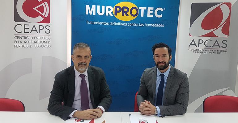 Apcas y Murprotec colaboran para impartir formación técnica a los peritos de seguros