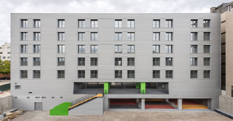 Passivhaus viviendas sociales Carabanchel