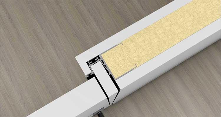 BLProfile ofrece un nuevo sistema constructivo de fácil instalación de puertas interiores