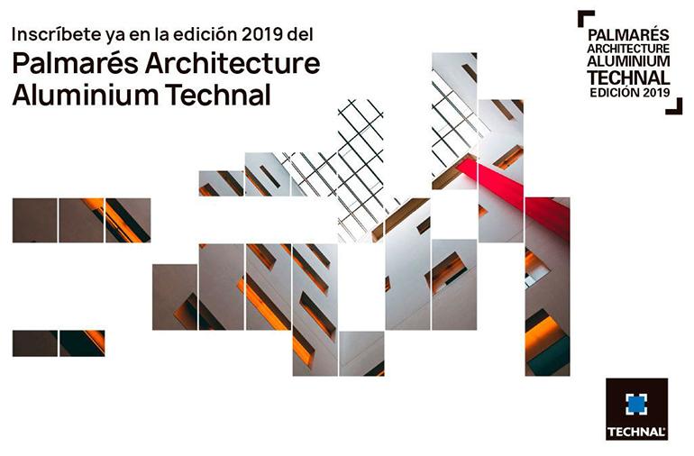 Abiertas las inscripciones al Palmarés Architecture Aluminium Technal