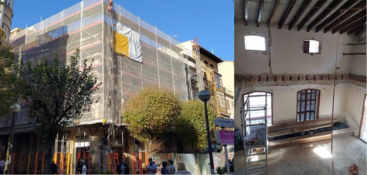 Rehabilitación de un emblemático edificio del corazón de Palma de Mallorca