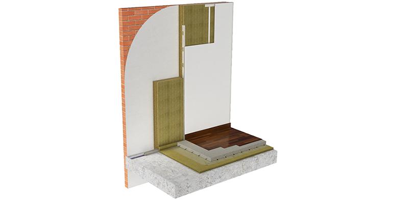 Sistema de aislamiento de fachadas por el interior que genera eficiencia y ahorro
