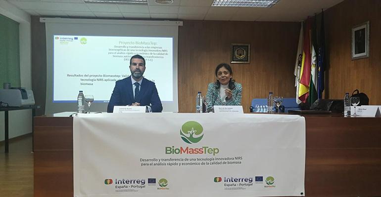 Biomasstep expone una tecnología capaz de analizar la calidad de la biomasa