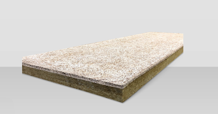 Aislamiento de lana de roca bajo forjado