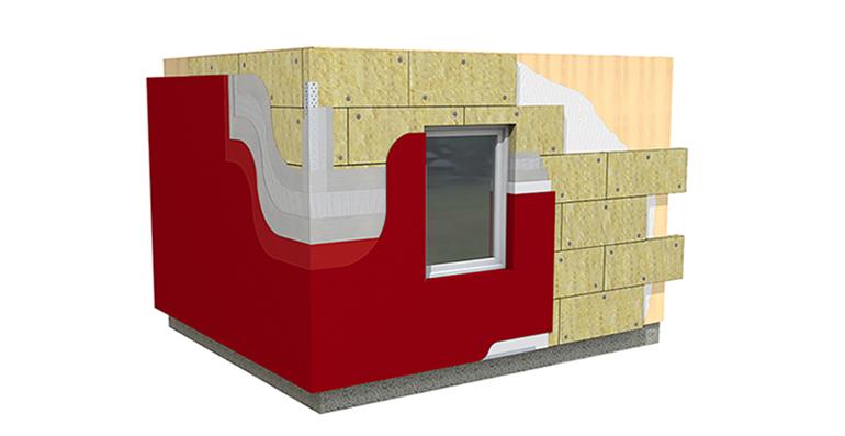 ROCKWOOL lanza un nuevo sistema de aislamiento térmico y acústico para fachadas tipo SATE soporte madera