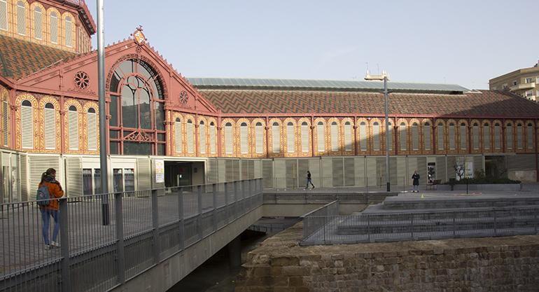 El histórico mercado de Sant Antoni premiado como uno de los edificios más eficientes de 2020 por sus innovadoras instalaciones geotérmicas