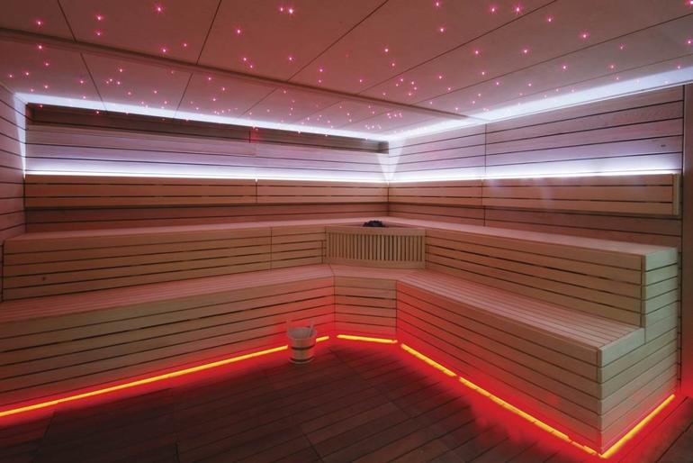 Sauna finlandesa para ambientes exclusivos