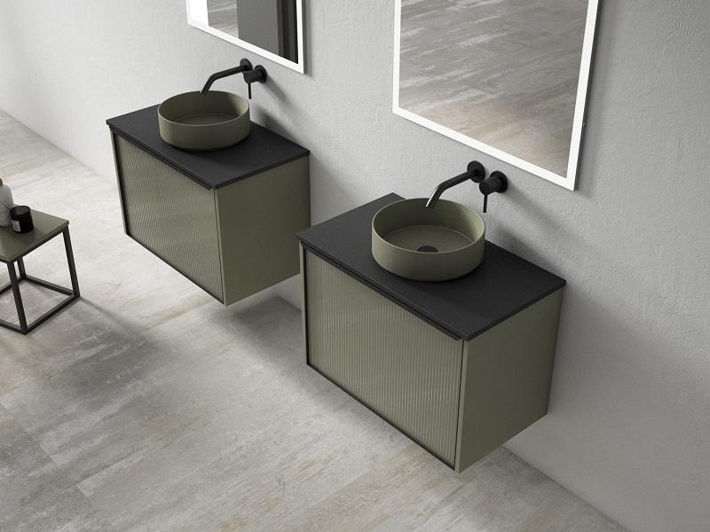 Segunda propuesta Colección Play, Combinación de 2 muebles independientes de estructura lateral