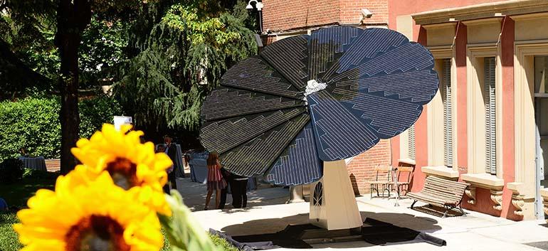 Smartflower Poptm sistema fotovoltaico