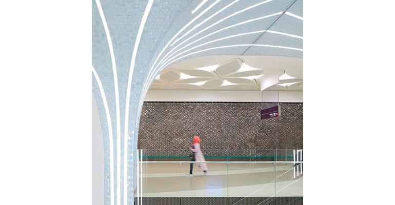 Techo metro Doha 2