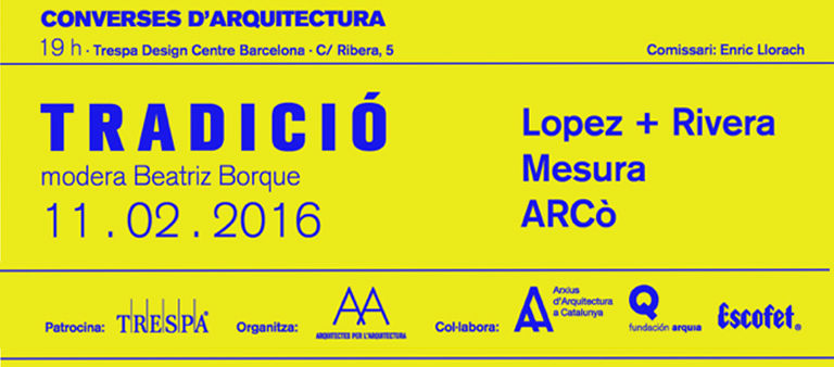 Conferecia arquitectura Trespa