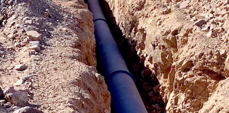 Mejora de la Etap y red de alta para el abastecimiento de El Condado, Jaén