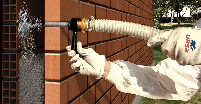 Nuevo aislante insuflado para la rehabilitación energética de edificios