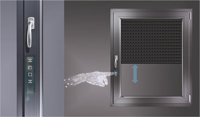 Solución inteligente y sofisticada para la automatización inteligente de ventanas