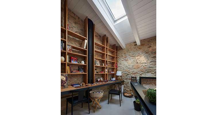Velux proyecto  casa G&P biblioteca