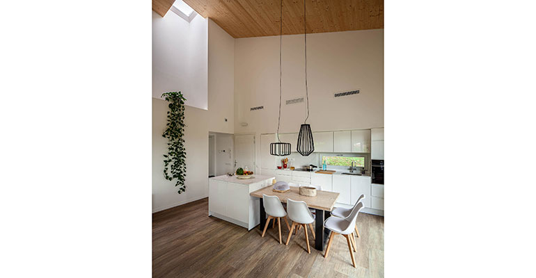 Vivienda biopasiva interior House Habitat 2