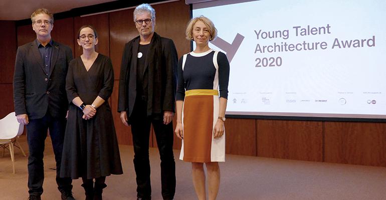 Young Talent Architecture Award 2020 reconoce el talento de los arquitectos recién graduados
